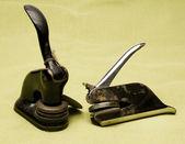 Vintage antichi sigilli corporativi — Foto Stock