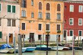 Boats canal Murano Venice Italy — Stock Photo