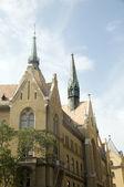 Unitarius templom униатской церкви будапешт венгрия — Стоковое фото