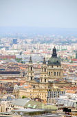 Cityscape St. Stephen's Cathedral Budapest Hungary — Stock Photo