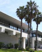 Moderne architektur-handelskammer commerce maritime terminal ajaccio — Stockfoto