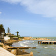 Mediterranean Sea Beach Carthage Tunisia Africa — Stock Photo