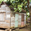 Original 90 year old Caribbean style house Corn Island Nicaragua — Stock Photo