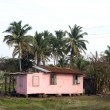 Typical house corn island nicaragua - Stockfoto