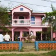 Editorial downtown scene brig bar corn island nicaragua - Stock Photo
