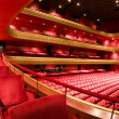 Stock Photo: Ruben Dario National Theater ManaguNicaraguinterior plush red velvet seats Central America