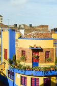 ιστορική αρχιτεκτονική la candelaria μπογκοτά κολομβία — Φωτογραφία Αρχείου