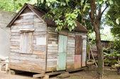 Original 90 year old Caribbean style house Corn Island Nicaragua — Stock Photo