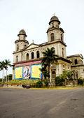 Old Cathedral Managua catedral Santo Domingo — Stock Photo