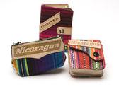 Souvenir change purse nicaragua — Stock Photo