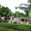 Typical house corn island nicaragua — Stock Photo #13411978