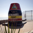 Southern most point in united states — Stock Photo