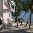 Stock Photo: Typical house home architecture beach key west florida