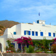 Greek Cyclades island Ios typical architecture — Stock Photo #13413145
