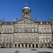 Stock Photo: Royal palace dam square amsterdam holland