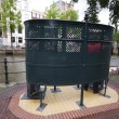 Stock Photo: Outdoor public urinal amsterdam