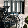 Royalty-Free Stock Photo: Bicycle sunlight amsterdam