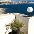View of st. julians from sliema malta — Stock Photo