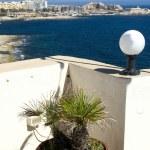 View of st. julians from sliema malta — Stock Photo