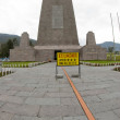 East equator line mitad del mundo middle of world quito ecuador — Stock Photo #13418117