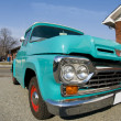 Stock Photo: Classic antique pickup truck