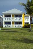 Cabanas em um tropical resort de luxo — Foto Stock