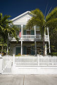 Typical home architecture key west florida — Stock Photo