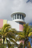 Famous hotel south beach — Stock Photo