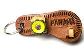Key chain souvenir panama — Stock Photo