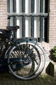 Rower światło słoneczne amsterdam — Zdjęcie stockowe