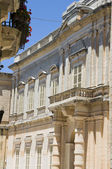 Malta mdina casa testaferrata palace — Stock Photo
