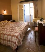 ルーム オイア ia サントリーニ島ギリシャ諸島のホテル ギリシャ — ストック写真