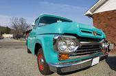 Classic antique pickup truck — Stock Photo
