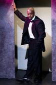 Minister beau harris new york actor portrait — Stock Photo
