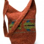 Постер, плакат: Shoulder bag hand made in guatemala