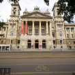 Stock Photo: Museum of Ethnography across from Parliament Budapest Hungary