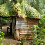 Native house nicaragua — Stock Photo #13420929