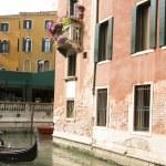 Beautiful romantic Venetian scenery — Stock Photo