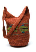 Shoulder bag hand made in guatemala — Stock Photo