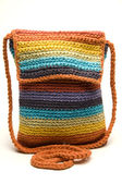 Shoulder bag hand made in brazil — Stock Photo