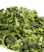 Chopped mustard greens — Stock Photo