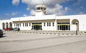 Airport Milos Cyclades Greek Island Greece — Stock Photo