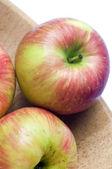 Honeycrisp apples — Stock Photo