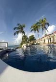 Sonsuzluk yüzme havuzu nicaragua — Stok fotoğraf