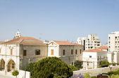 Auf dem dach ansicht larnaca zypern — Stockfoto