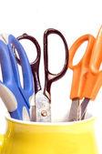 разнообразие управление снабжения ножницы — Стоковое фото