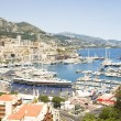 Royalty-Free Stock Photo: Editorial Monaco Grand Prix harbor