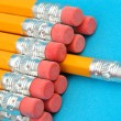 Stock Photo: Dozen new pencils