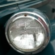 Antique car head light — Stock Photo