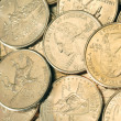 25 CENT COINS new state — Stock Photo #23018232